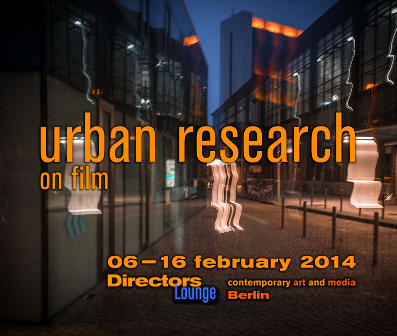 Urban Research@Contemporary Art and Media Festival, Berlin, Germany, Feb. 2014