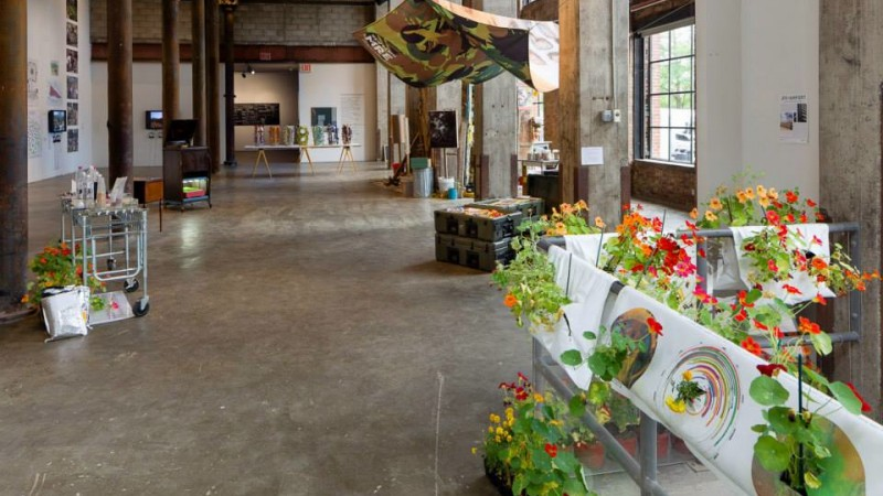 FOODSHED at CR10 Arts Space, Summer 2015